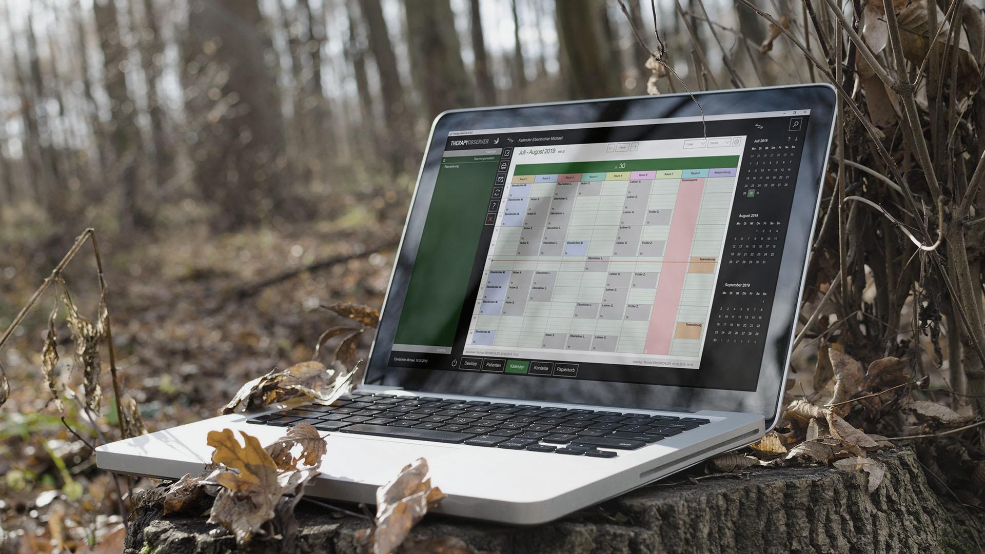 Arbeiten mit einer Online Praxissoftware